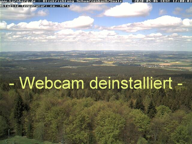 Webcam Kornberg - Blickrichtung Westen