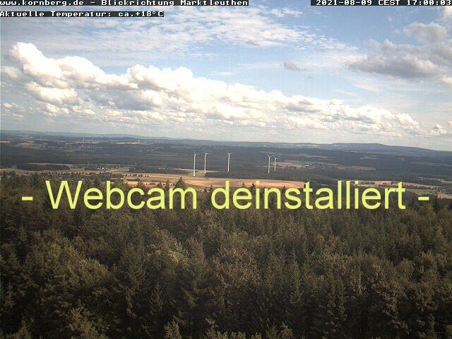 Webcam Kornberg - Blickrichtung Süden